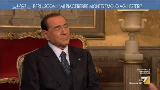 Berlusconi: 'Io come Trump? Sciocchezze. Di lui mi piace soprattutto Melania' Video