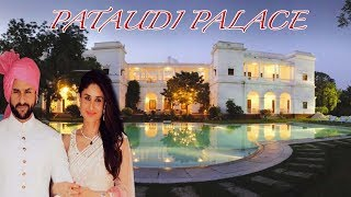 Saif Ali Khan's Royal Pataudi Palace | Inside And Outside Pictures