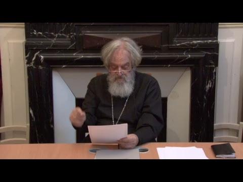 CDS Paris, 23 juin 2017: Iconologie et art chrétien. Niveau 1. Pr. Nicolas Ozoline