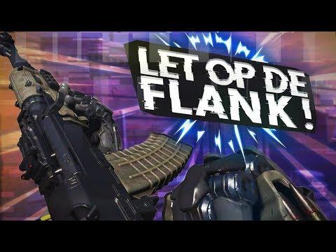 LET OP DE FLANK ROUTE! (COD: Black Ops 3) (видео)