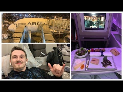 Flying To China In 1st Class!