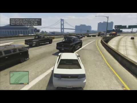 Franklin get Stuck in Traffic