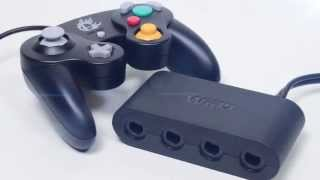 Official Wii U GameCube Controller Adaptor! [ Video Clip ]
