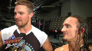 Is the rivalry over between Stephen Amell and Stardust?: WWE.com Exclusive, August 23, 2015