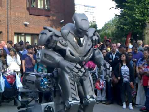 orthadox with robbot in walthamstow