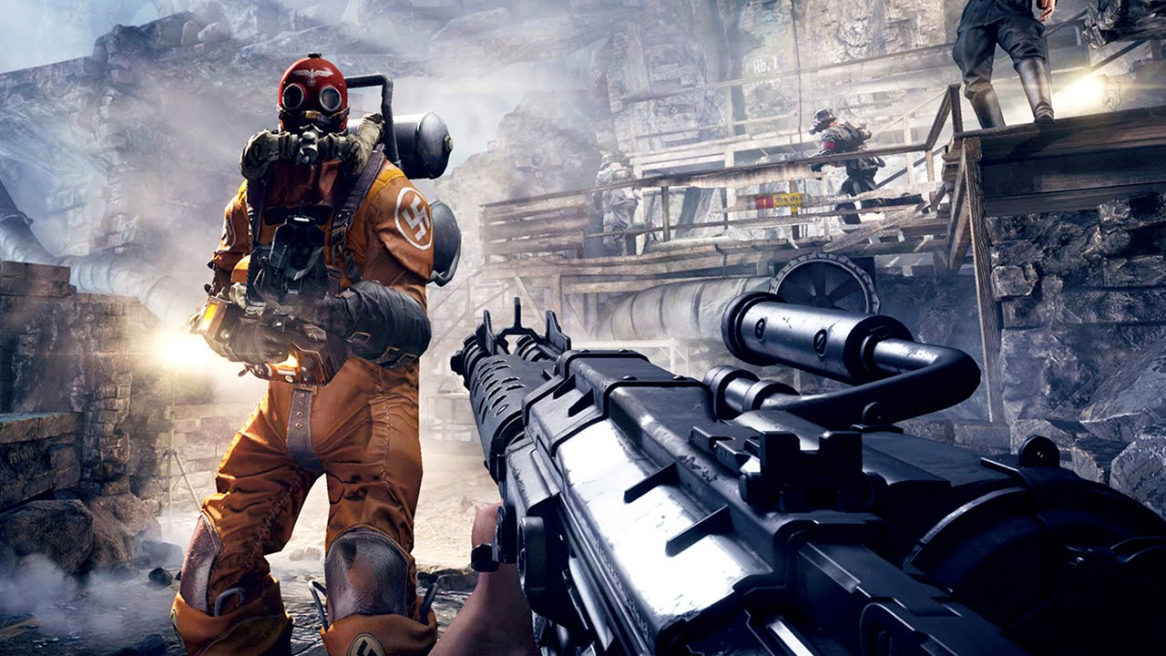 WOLFENSTEIN The Old Blood – Gameplay Trailer (PS4 / Xbox One) #VideoJuegos #Consolas