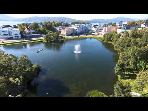 Finnsnes Drone Video