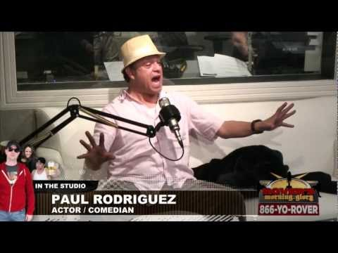 Comedian Paul Rodriguez Interviewed