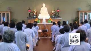 Lễ Truyền Giới Sa Di 2011 - Thầy. Thích Pháp Hòa