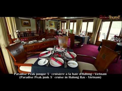 Paradise Peak jonque croisière baie d'Halong (Paradise Peak junk cruise-Galatourist)