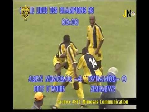 Finale Ligue des champions 1998 ASEC Mimosas 4-2 Dynamo Harare