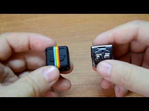 Видео Миникамера для видеосъемки SQ11, черная