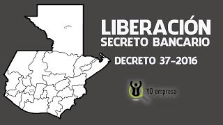 Liberación del secreto bancario
