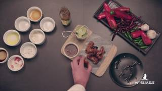 Korean BBQ Wings with Mrs Ball's Jalapeño Chutney