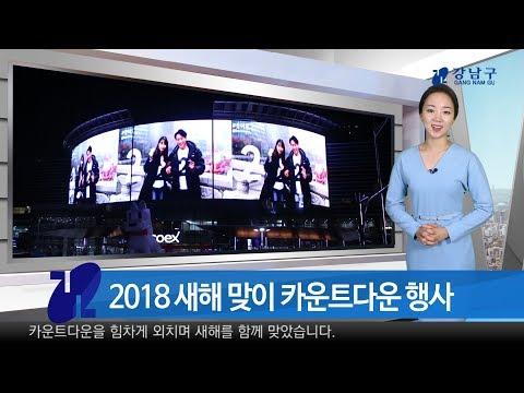 2018년 1월 첫째주 강남구 종합뉴스