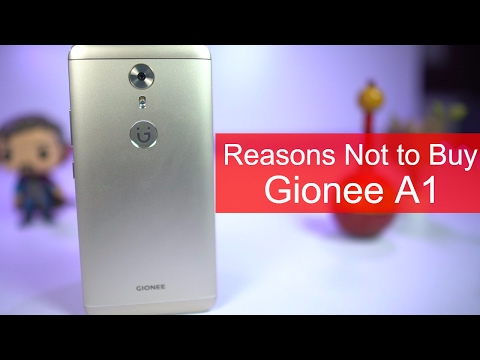 2 Reasons Not to Buy Gionee A1