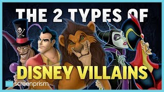 Video The Two Types of Disney Villains MP3, 3GP, MP4, WEBM, AVI, FLV September 2018