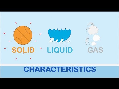 K12 Grade 3 - Science: Characteristics of Solid, Liquid and Gas