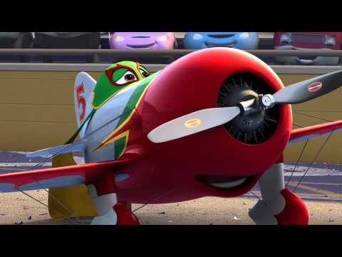 Lidmašīnas (Planes) LV treileris (видео)