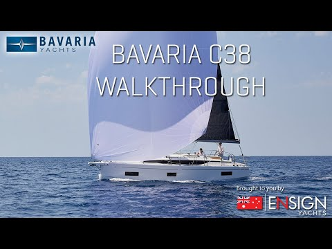 Bavaria C38 Walkthrough by Ensign Yachts (Full Length Feature)