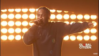 Kendrick Lamar Live @Global Citizen Festival 2016 - HD