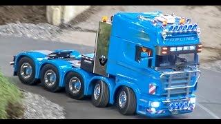 Pokaz ciężarówek RC