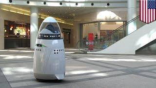 ロボット警備員「K5」米シリコンバレーに登場