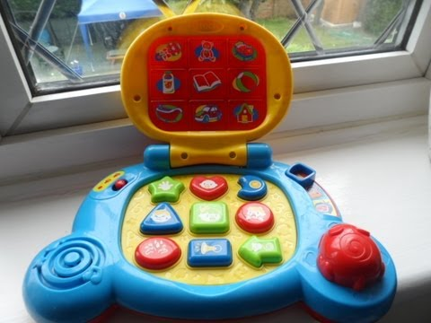 VTECH BABY'S PRESCHOOL LAPTOP TO LEARN PHONICS SHAPES TOYS SONGS MUSIC