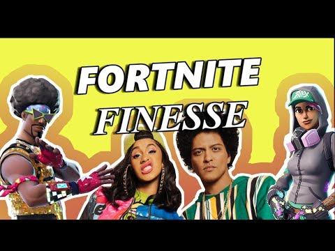 FORTNITE Finesse - Finesse (Remix) Recreation