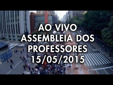 Assembleia Estadual 15 de Maio - A Greve continua!