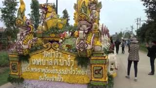 Chiang Rai Flower Festival - Travel Journey - Chiang Rai And Chiang Mai Thailand