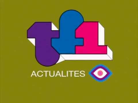 TF1 Telejournal 1970s Mock