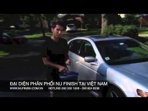 Rửa xe sáng bóng với nước rửa xe Nu Finish Car Wash