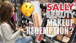 SALLY'S BEAUTY ... MAKEUP REDEMPTION??? 🤔 by Glam Life Guru
