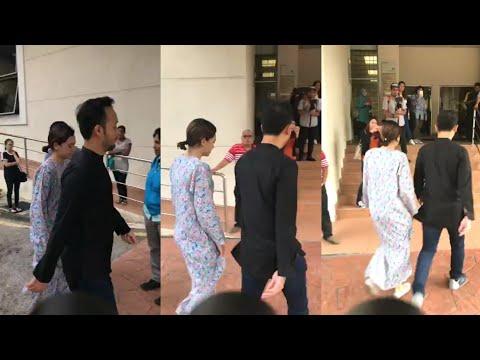 Diana Danielle tiba di mahkamah bagi urusan pembebasan Datuk Farid Kamil