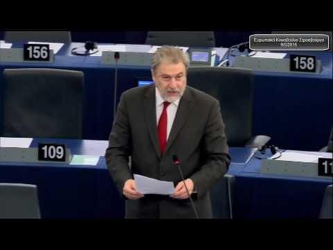 Νότης Μαριάς στην Ευρωβουλή: Επιτάχυνση του προγράμματος αγροτικής ανάπτυξης στην Ελλάδα εδώ και τώρα
