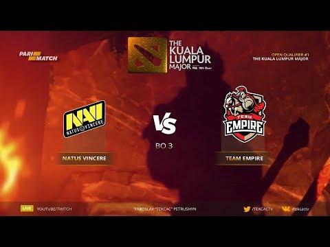 🤠 [RU] Natus Vincere vs Empire - Реванш. New era NaVi | Bo3 | The Kuala Lumpur Major (видео)