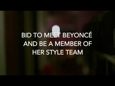 The Mrs. Carter Show, Charity Auction