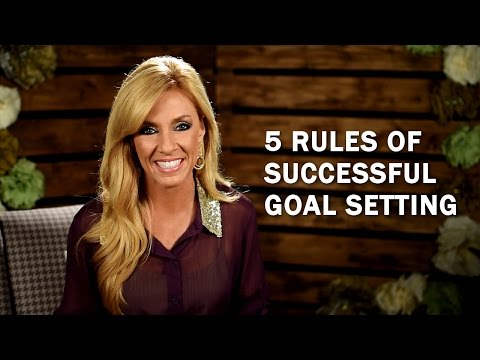 Five Rules Of Successful Goal Setting