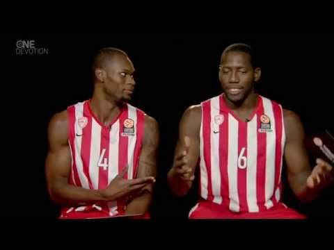 One-On-One interview: Brent Petway and Bryant Dunston, Olympiacos Piraeus