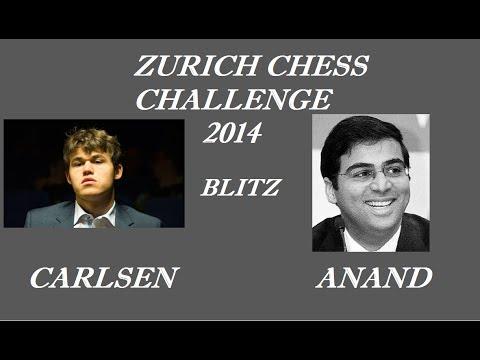 Zurich Chess Challenge 2014: Carlsen vs Anand (Blitz)