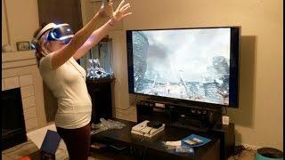 New Playstation VR! Skyrim!