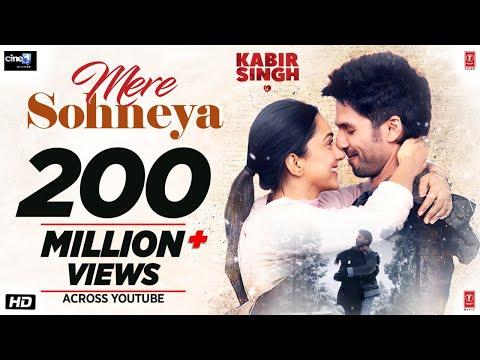 Kabir Singh: Mere Sohneya Song   Shahid K, Kiara A, Sandeep V   Sachet - Parampara   Irshad K