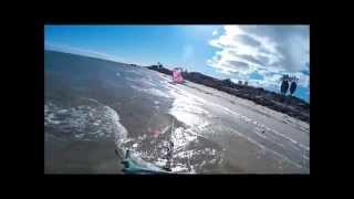 Denham Australia  City pictures : Kitesurfing Disaster Denham, Shark Bay, Western Australia