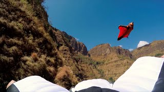 Wingsuit Base Jump Simien Mountains National Park, Ethiopia