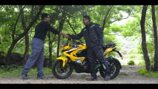 Video 1610 kms in less than 24 hours with Pulsar RS200 - Dare The Pulsar MP3, 3GP, MP4, WEBM, AVI, FLV Oktober 2017