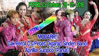 Video PERCIL C.s/PETET Terbaru 28 - 01 - 2018 Vs Sinden Banci Aprillian Sucipto (Panut) MP3, 3GP, MP4, WEBM, AVI, FLV Juni 2018