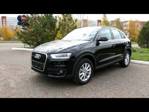 2012 Audi Q3. Start Up, Engine, and In Depth Tour.