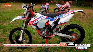4. 2016 KTM 350 EXC-F Sixdays walkaround and startup