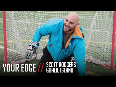 Your Edge: Goalie Warm-Up Drills With Scott Rodgers (видео)